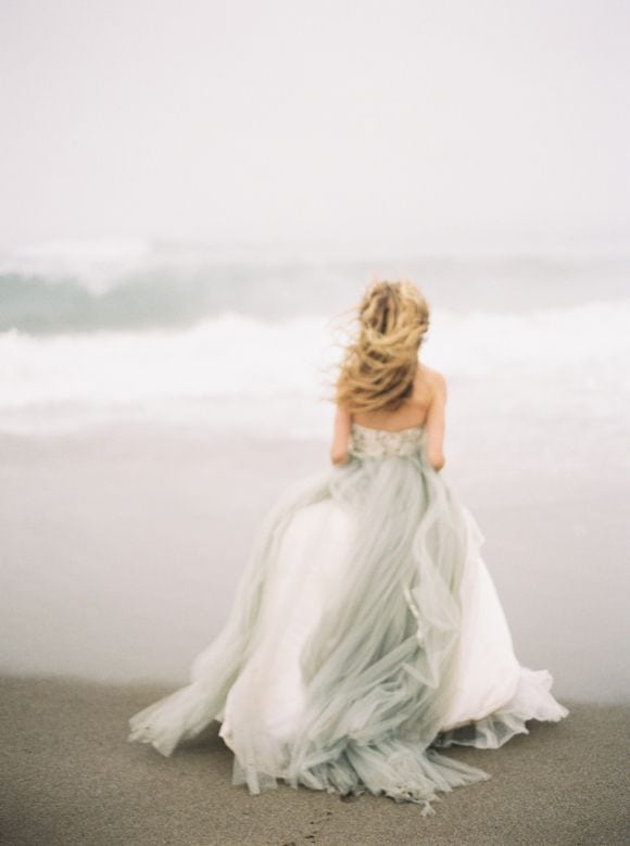 A beach loving bride, on the Knot & Pop blog, UK wedding planners