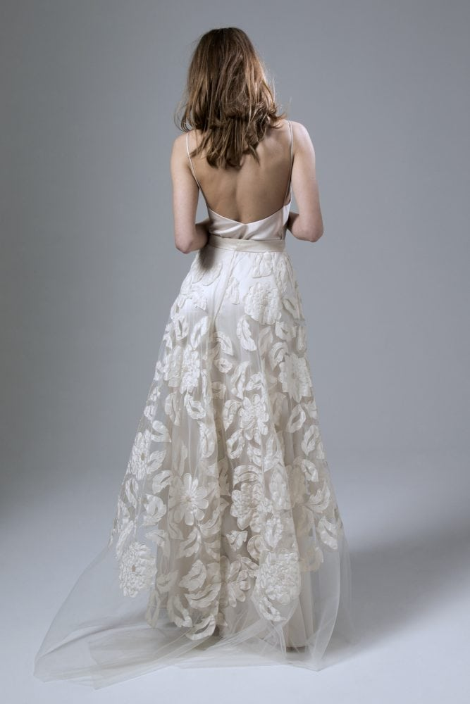 Wedding dresses by Kate Halfpenny. Susie