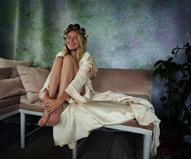 Boho bridal style, Savannah Miller for Stone fox bride