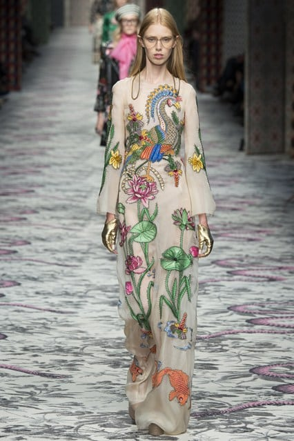 Gucci Spring Summer 2016 wedding inspiration