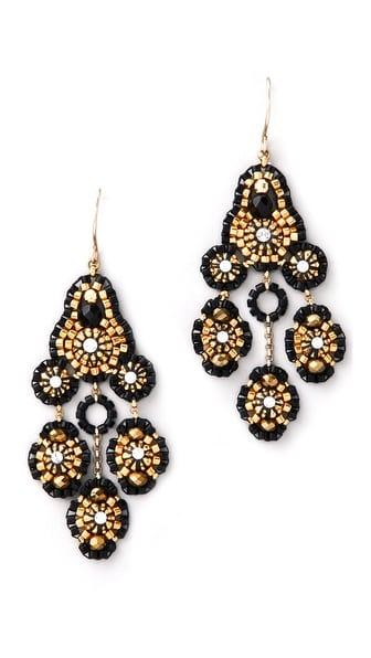 Gorgeous baroque inspired earrings