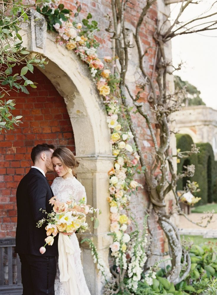Couples portraits at Somerleyton - UK luxury wedding venue and exclusive home-stay in the English countryside