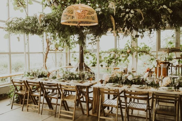 Scottish magical wedding reception on Mull, planned and styled by Knot & Pop with photography by India Earl