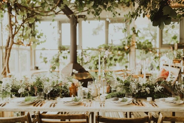 Scottish magical wedding dinner on Mull, planned and styled by Knot & Pop with photography by India Earl