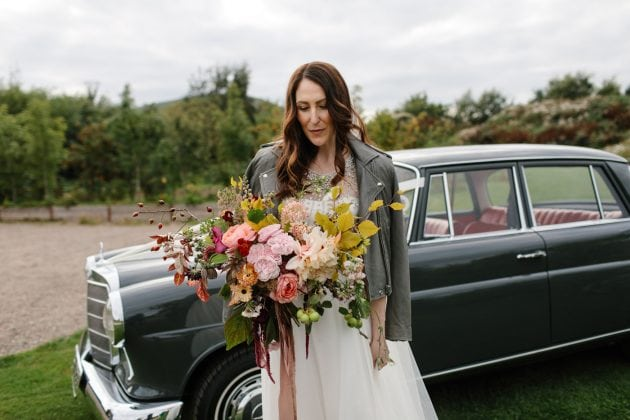 A secret garden inspired artisanal wedding in Scotland by Knot & Pop wedding planners, photography by Caro Weiss