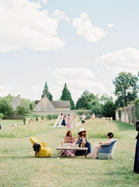 A Garden Meadow Wedding in Normandy France