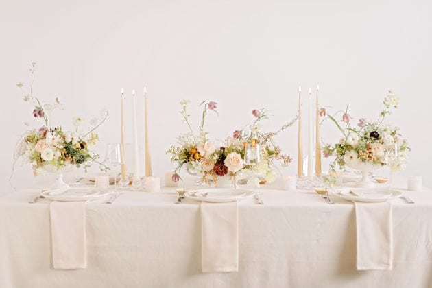 A pale wedding palette for wedding ideas with Vera Wang X Wedgwood
