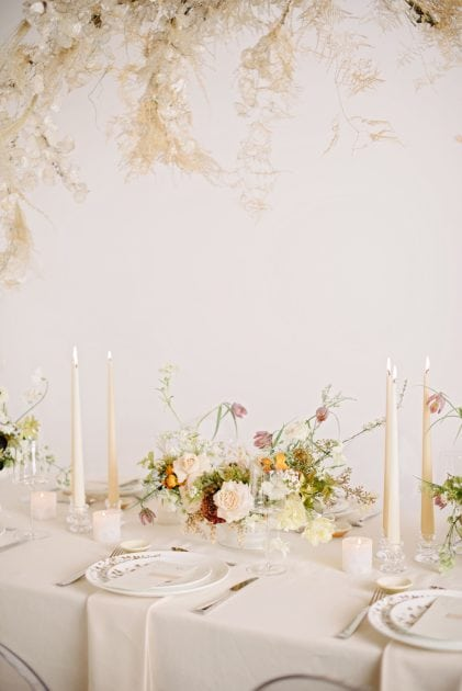 Biscuit Tones Wedding Design for Vera Wang X Wedgwood