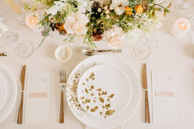 Blossom wedding for Vera Wang X Wedgwood