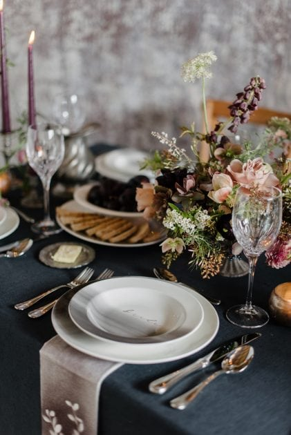Wedding Feast Inspiration for Vera Wang X Wedgwood