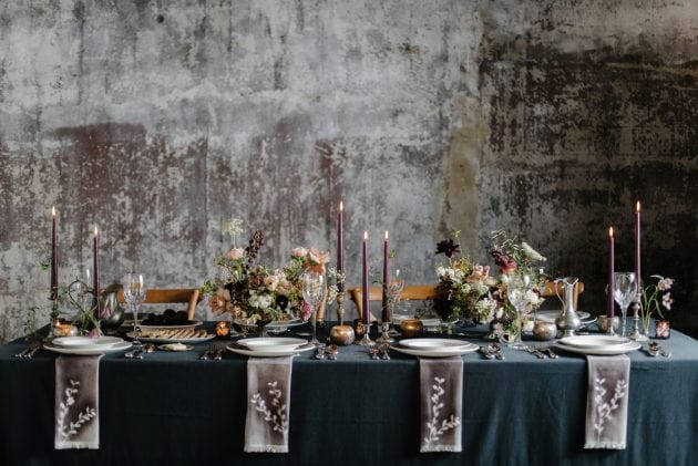 Textured Wedding Ideas for Vera Wang X Wedgwood