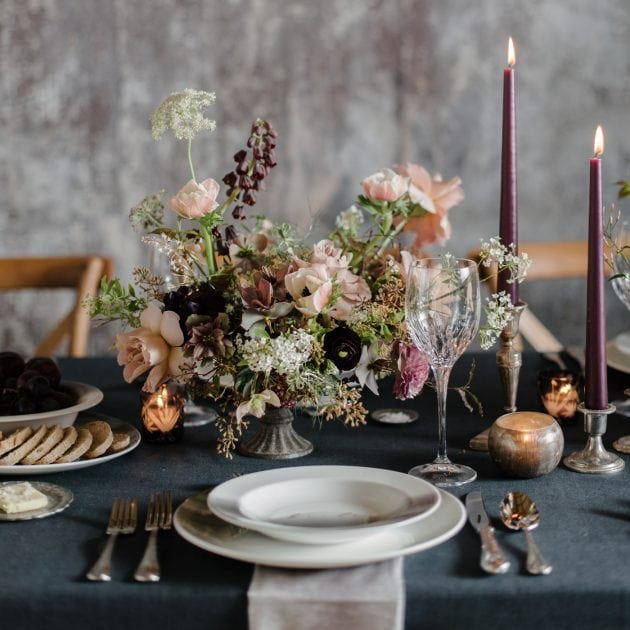 Moody Wedding Ideas for Vera Wang X Wedgwood