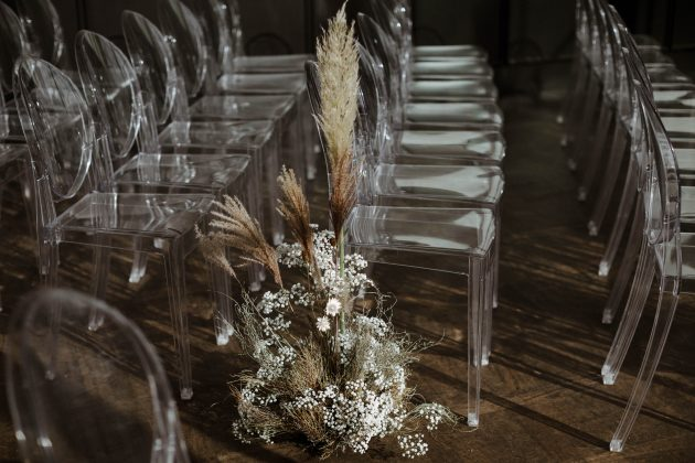 Dried Flower Picnic Wedding at Ace Hotel. Concept and Styling Knot & Pop. Photography The Curries